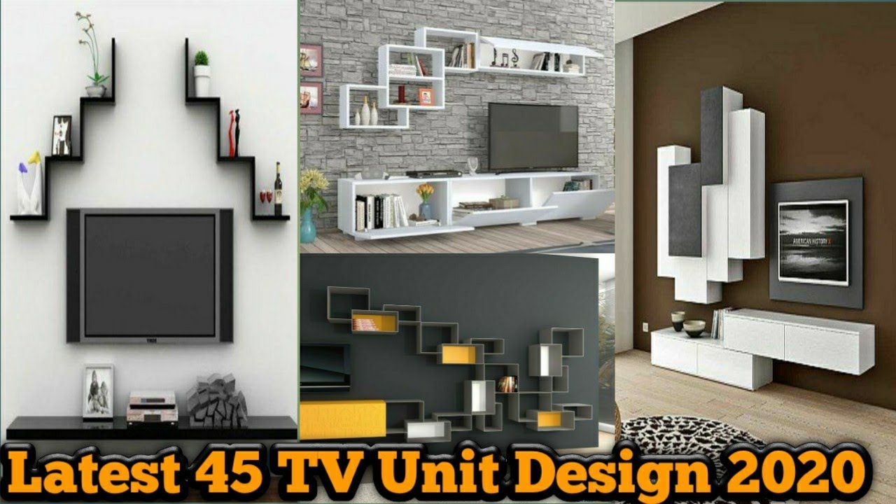 Latest Tv Wall Design Lcd Tv Wall Unit Design Tv Showcase Design In Wall Modern Tv Wall Unit Designs Youtube