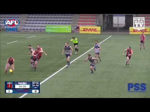 2017 AFL Europe Champions League Men's Grand Final Highlights - Amsterdam Devils v West London