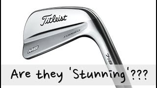 Titleist 718 MB Irons tested Average Golfer