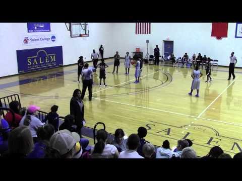 Salem College vs Agnes Scott first half 2013-2014