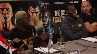 'YOU'RE A BUM!' - OHARA DAVIES LAYS IN PAUL KAMANGA AFTER BEING BRANDED 'AVERAGE AT BEST'