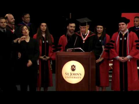 College of Pharmacy and Health Sciences Commencement for Graduate Programs