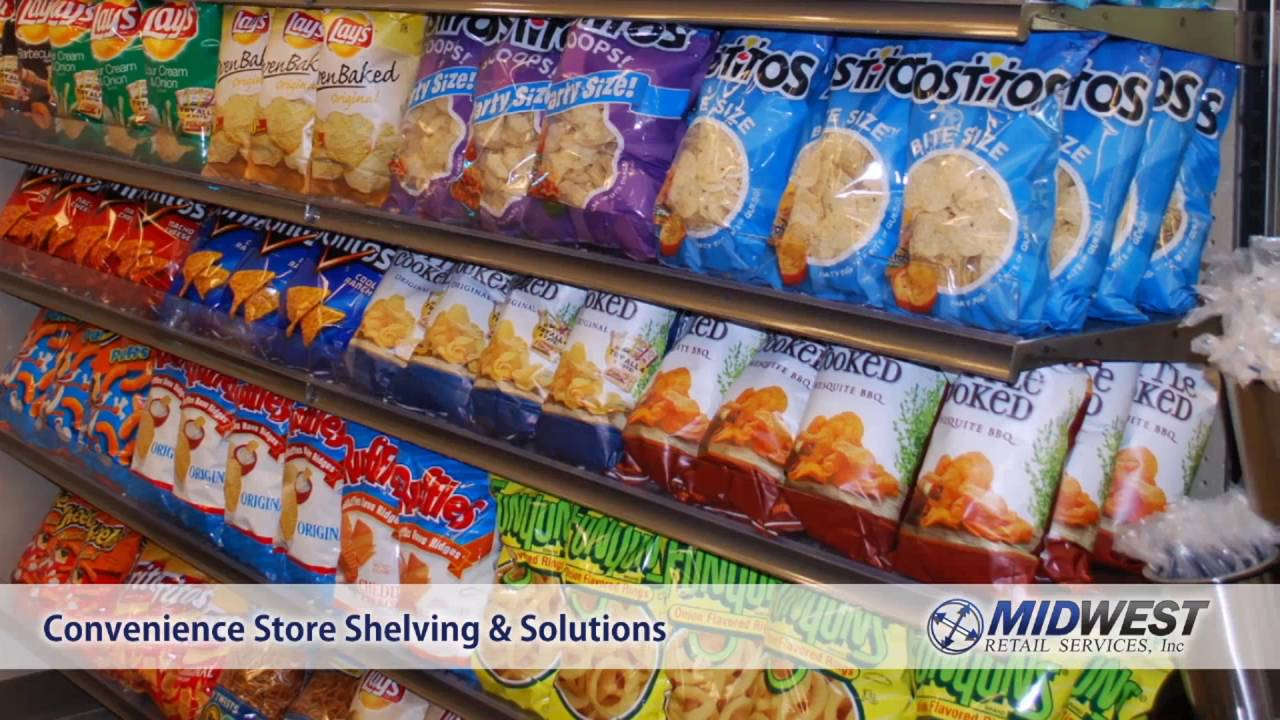 Store Shelving Convenience Stores Midwest Retail Services