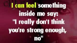 Believe - Karaoke Cher Style