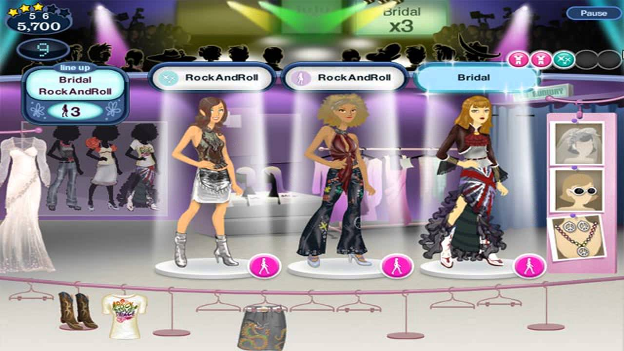 Barbie Fashion Show Dress Up Game Girl Games Youtube