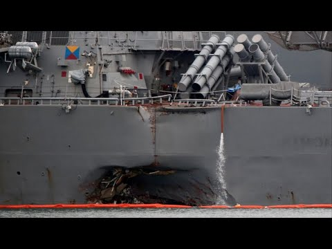 Navy relieves two officers of duty following deadly USS McCain crash