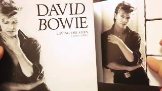 Gambar cover David Bowie - Loving the Alien (1983-1988) Boxset UNBOXING