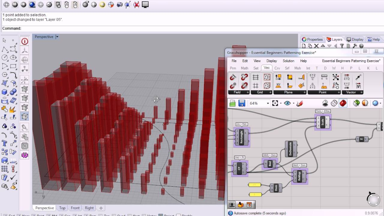 Fibonacci Sequence In Design 125 - Grasshopper - Fu...