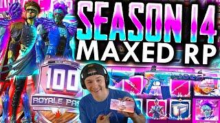 MAXED SEASON 14 ROYALE PASS! 100 Tiers + Rewards! | PUBG Mobile