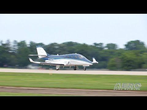 Aero-TV: The Stratos 714 at Oshkosh - Developing a 'No-Excuses' S/E Jet