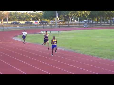 Fast like the flash Margate middle school student sped away for the win (2017 track and field )