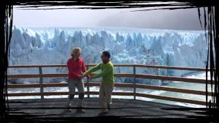 Bailando salsa en el Glaciar Perito Moreno, Argentina