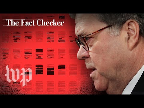 What Attorney General Barr said vs. what the Mueller report said | The Fact Checker