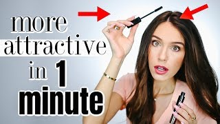 7 Ways To Look More Attractive in ONE MINUTE! *real tricks*