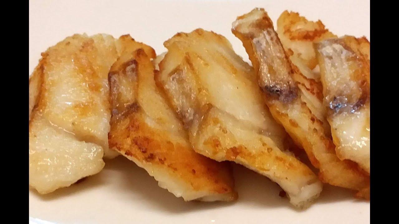 【20無限】: 煎大西洋鱈魚柳 ( 唔係太平洋 ) Atlantic cod - YouTube