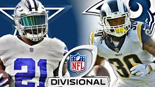 Dallas Cowboys Vs Los Angeles Rams NFL Playoffs Predictions | Divisional Round