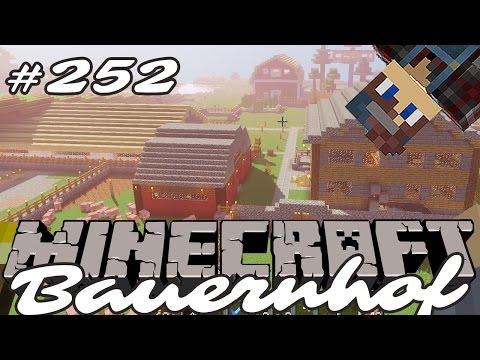 Minecraft Bauernhof Gameplay German #252  mehr Fichten  Lets Play MC Staffel 03