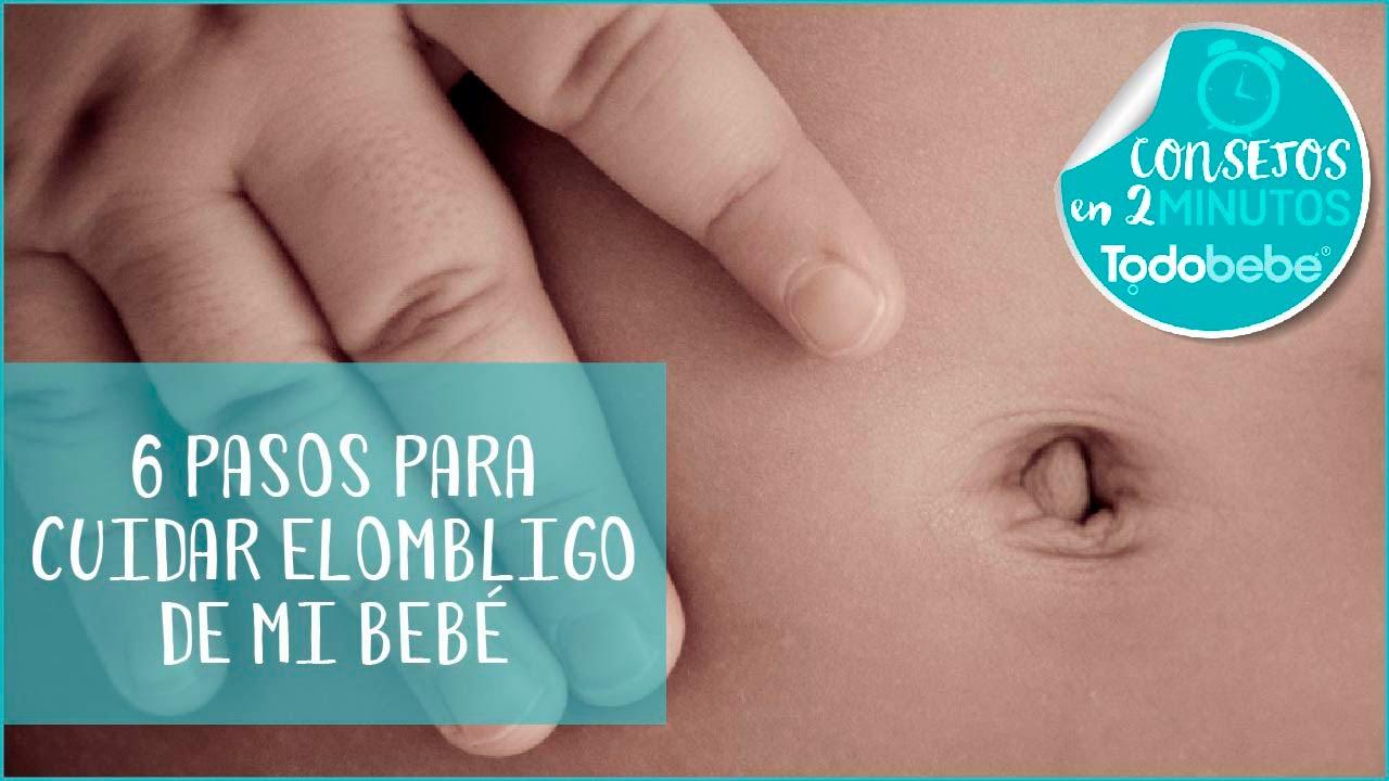 6 pasos para cuidar el ombligo de tu recién nacido ...
