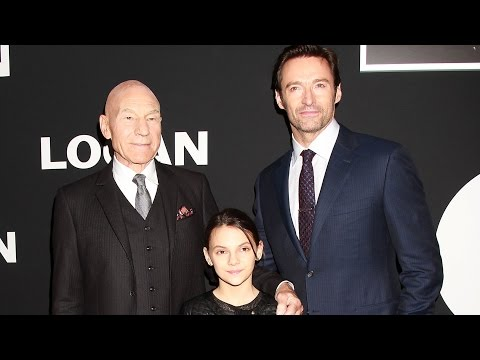 Logan New York Premiere Red Carpet - Hugh Jackman, Patrick Stewart, Dafne Keen