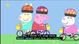 Peppa Pig (Series 1)  - Bicycles (with subtitles)