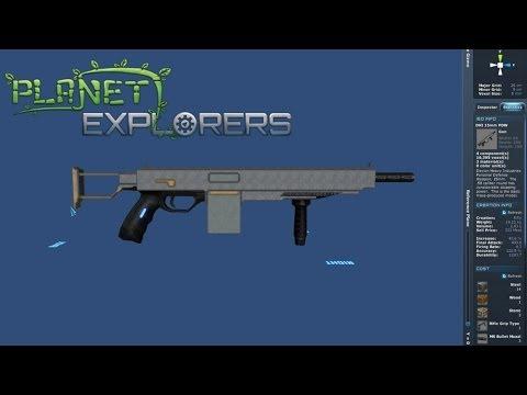 Planet Explorers Custom Item Creation Gameplay (version Alpha 0.752)