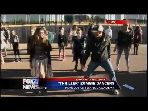 Revolution Dance Academy performs 'Thriller' (2)