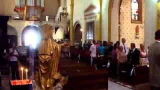 église roquebrune sur argens  mariage nat et christian 18 juin 2011