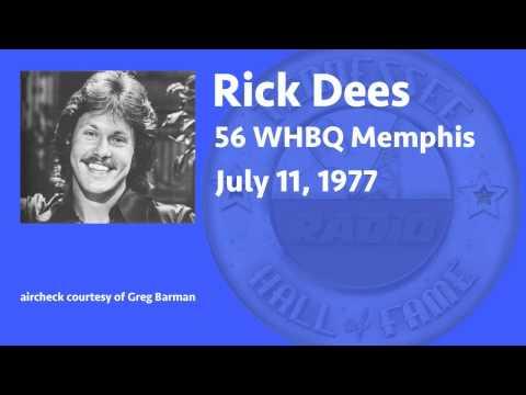 Rick Dees WHBQ Memphis 1977