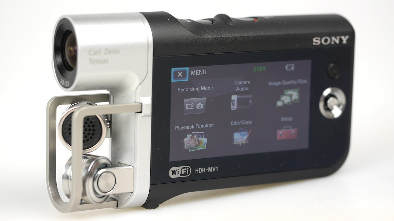 Sony HDR MV1 Music Cam Review (Includes sample clips)