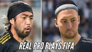 Soccer Pro Plays FIFA 19 Kickoff Mode • Professionals Play