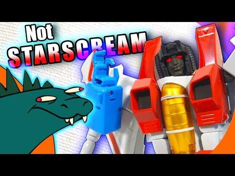 MakeToys Meteor NOT Starscream Transformers Review