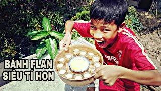 Xứ Nẫu Vlogs | LÀM BÁNH FLAN VÀ ĂN TRÊN CÂY CAO !!