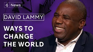 David Lammy MP on social justice, Brexit and not being a Corbynista