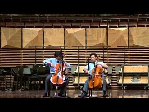 Sydney Grammar School 2 boys Prelude & Smooth Criminal by 2Cellos