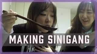 Koreans Making Sinigang for the First Time