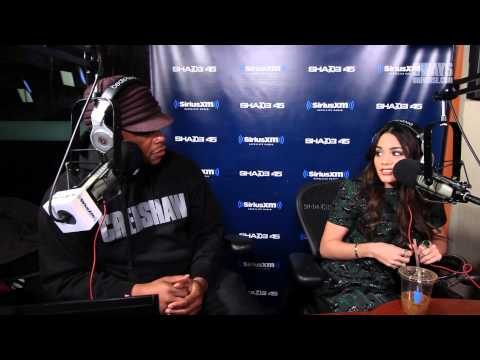 Vanessa Hudgens Booty Pops on Sway In The Morning & Answers Sex Questions from Sway's Mystery Sack