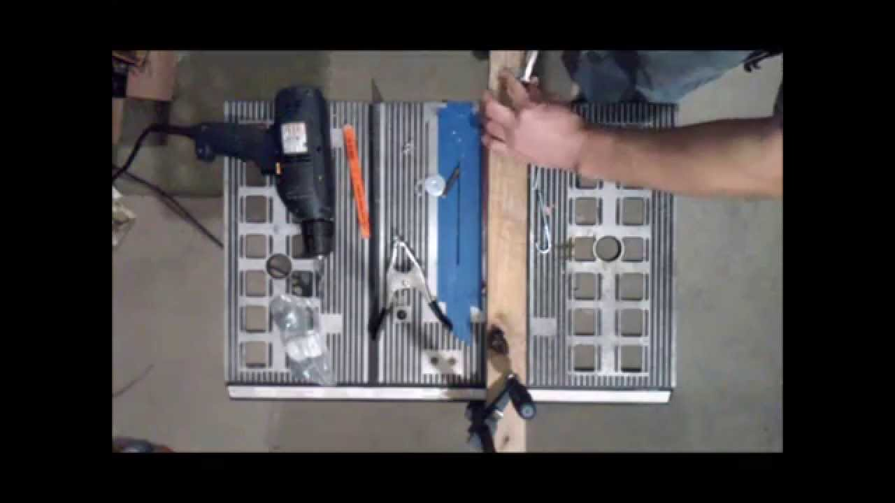 Making A Good Table Saw Fence Without Much Youtube
