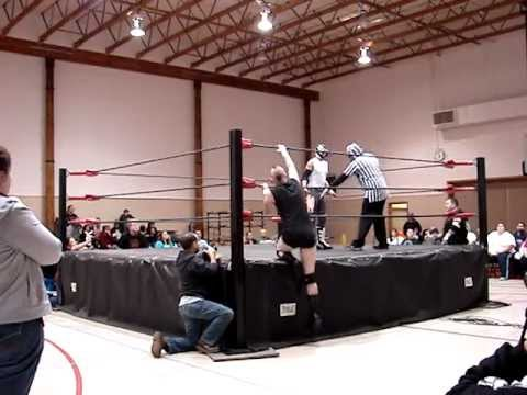 SCW/ AIWF's Breaking Point- El Sonico vs RAD for the AIWF NW Cruiserweight Championship