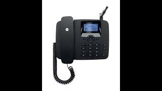 motorola fw200l wireless gsm landline phone ( unboxing in Hindi) jio 4g