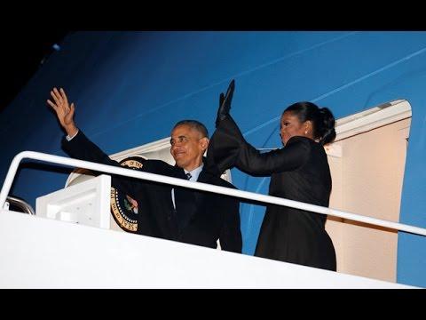 Bound For Hawaii, Obama Wishes America 'Mele Kalikimaka'