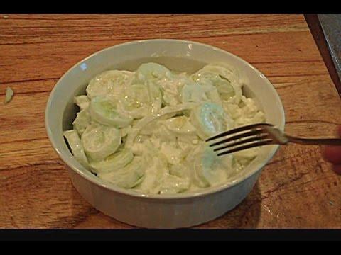 Salad recipes with apple cider vinegar