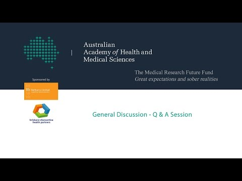 The Medical Research Future Fund: AAHMS Q&A