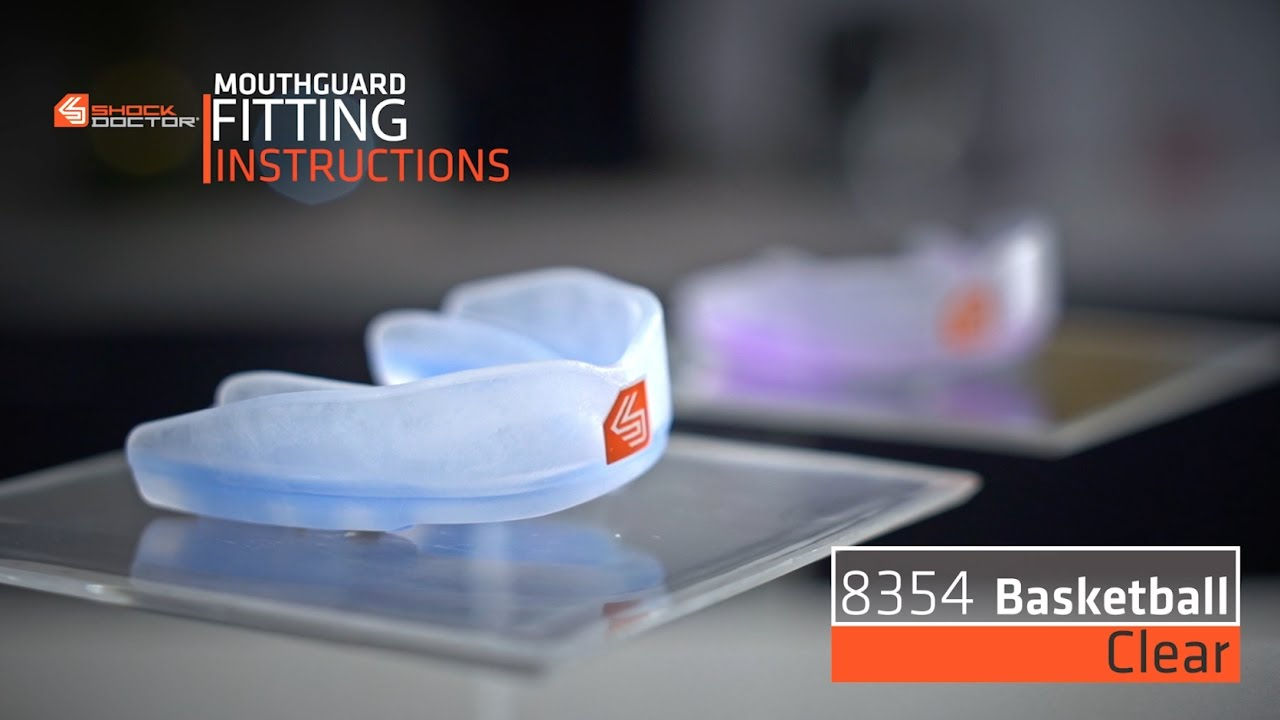 Shock Doctor Clear Basketball Mouthguard 8354 Fitting Video