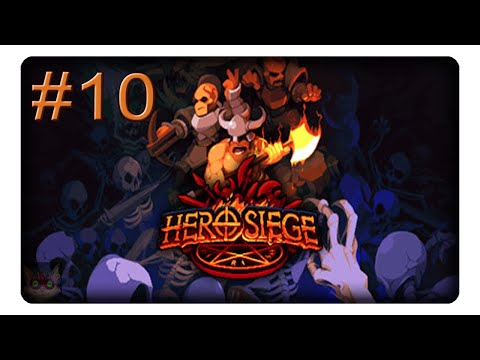 Abartige Stiefel Der Stärke =D #10 || Let's Play Hero Siege | Deutsch | German