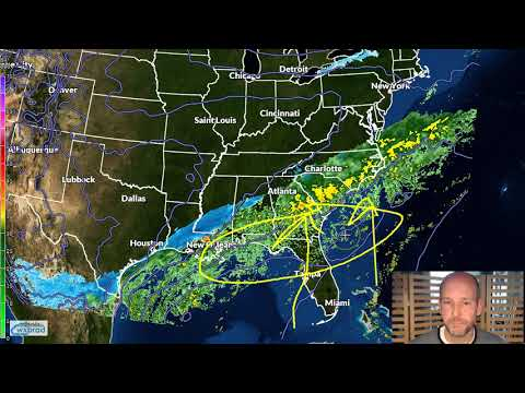 Thursday WX VLOG: Cold rain mixed with a little snow Friday.