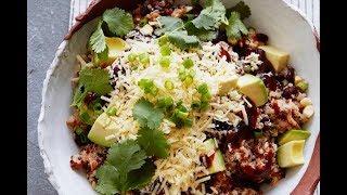 Loaded BBQ Chicken Quinoa Salad