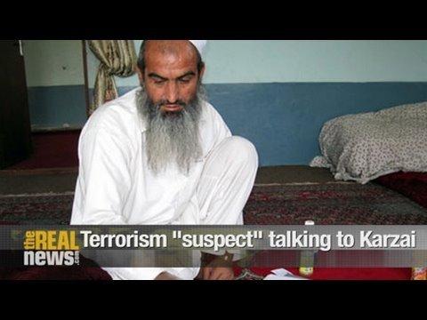 "Terrorism ""suspect"" talking with Karzai"