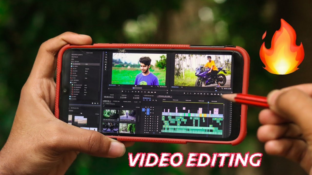 Top 5 professional Video Editing App For Android | Capture kid !!