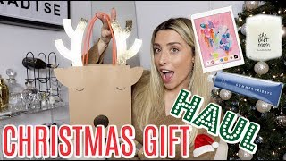 What I'm GIVING for Christmas! ACTUAL GIFT HAUL! | Lauren Elizabeth