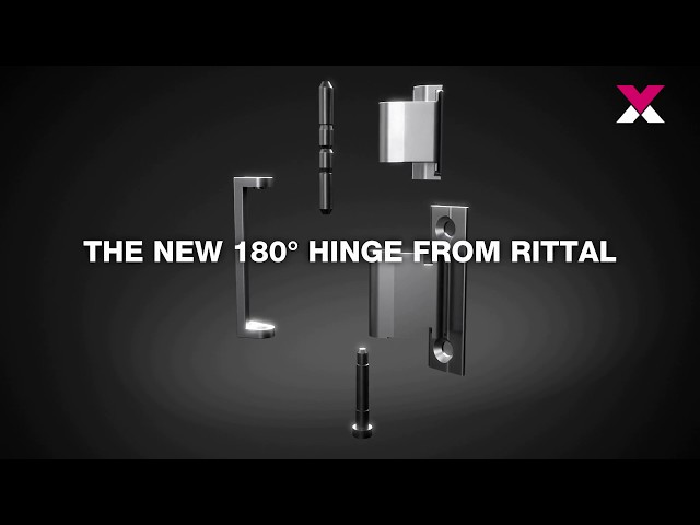 VX25 - The new 180° hinge